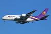 Thai Airways International Airbus A380-841 HS-TUF (msn 131) BKK (Michael B. Ing). Image: 923696.