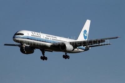 Xiamen Airlines Boeing 757-25C B-2862 (msn 34008) PEK (Rob Finlayson). Image: 934550.