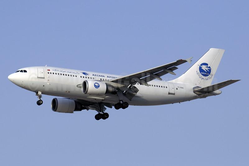 Ariana Afghan Airlines (Saga Airlines) Airbus A310-304 TC-SGC (msn 519) DXB (Paul Denton). Image: 925554.