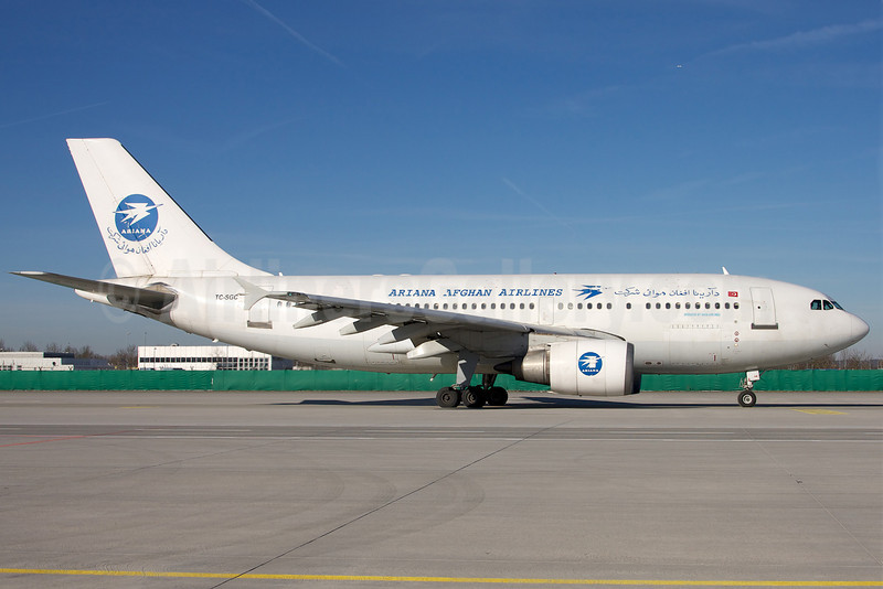 Ariana Afghan Airlines (Saga Airlines) Airbus A310-304 TC-SGC (msn 519) MUC (Arnd Wolf). Image: 906746.