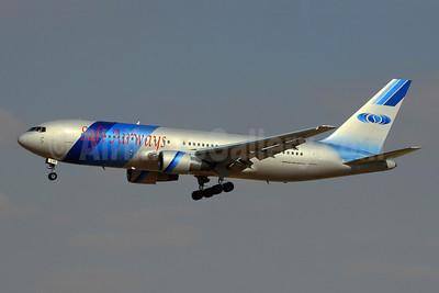 Safi Airways Boeing 767-2J6 ER YA-AQS (msn 23745) DXB (Konstantin von Wedelstaedt). Image: 902810.