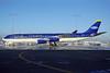 Safi Airways Airbus A340-311 YA-TTB (msn 015) (Aircomet colors) FRA (Bernhard Ross). Image: 904518.
