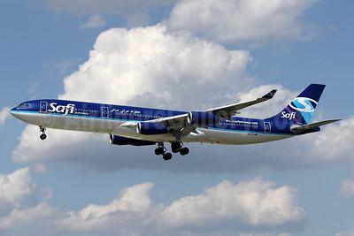Safi Airways Airbus A340-311 YA-TTB (msn 015) FRA (Wim Callaert). Image: 934692.