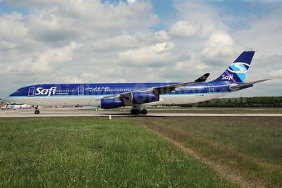 Safi Airways Airbus A340-311 YA-TTB (msn 015) FRA (Bernhard Ross). Image: 904518.
