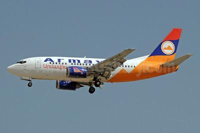 Armavia Air Company Boeing 737-55S EK73775 (msn 28475) DXB (Paul Denton). Image: 911583.