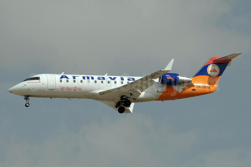 Armavia Air Company Bombardier CRJ200 (CL-600-2B19) EK20018 (msn 7499) DXB (Paul Denton). Image: 910924.