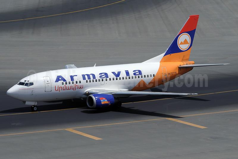 Armavia Air Company Boeing 737-55S EK73775 (msn 28475) DXB (Paul Denton). Image: 909474.