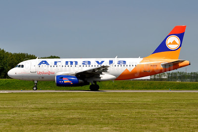 Armavia Air Company Airbus A319-132 EK32012 (msn 2362) AMS (Karl Cornil). Image: 951536.