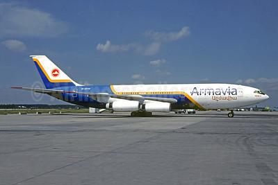 Armavia Air Company Ilyushin Il-86 EK-86118 (msn 51483209086) DME (Christian Volpati Collection). Image: 951535.