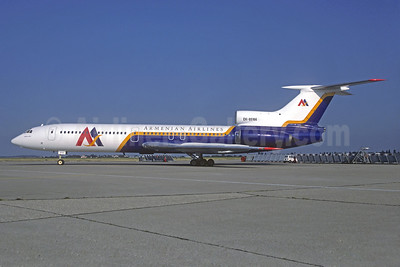 Armenian Airlines Tupolev Tu-154B-1 EK-85166 (msn 76A166) ORY (Jacques Guillem). Image: 931897.