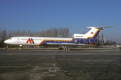 Armenian Airlines Tupolev Tu-154B-2 EK-85536 (msn 82A536) CDG (Christian Volpati). Image: 931898.