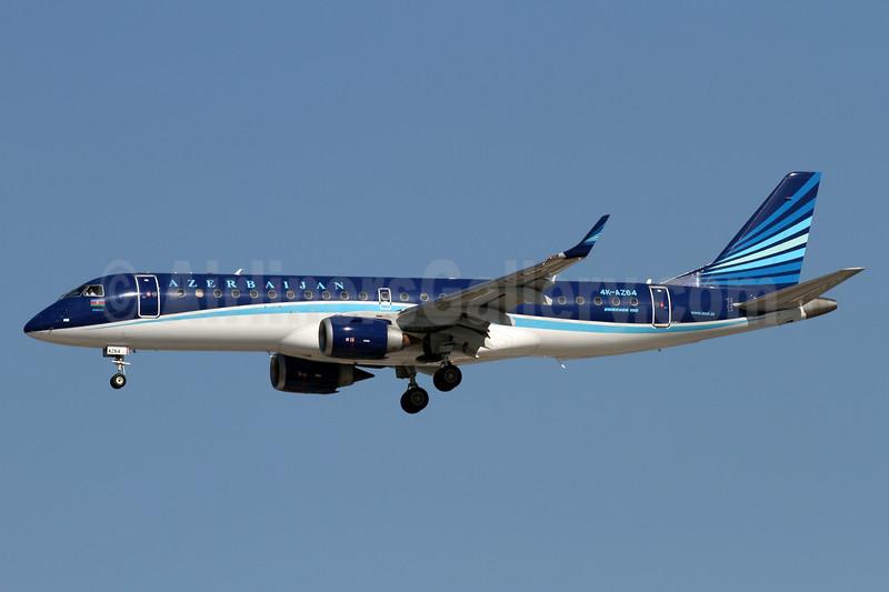 Azerbaijan Airlines Embraer ERJ 190-100 IGW 4K-AZ64 (msn 19000627) AYT (Andi Hiltl). Image: 938610.