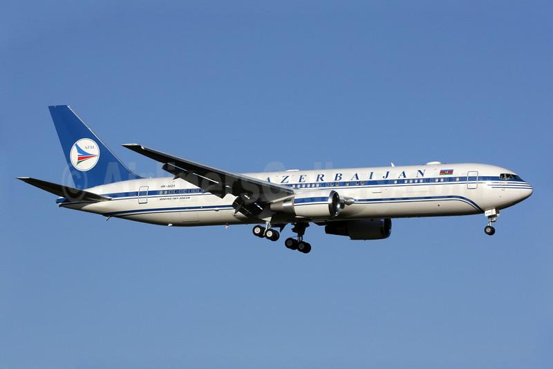 Azerbaijan Airlines-AZAL Boeing 767-32L ER 4K-AI01 (msn 40342) LHR (Antony J. Best). Image: 907460.
