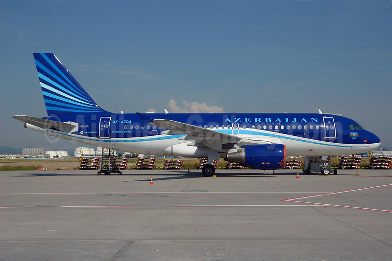 Azerbaijan Airlines Airbus A319-111 4K-AZ04 (msn 2588) FRA (Bernhard Ross). Image: 913444.