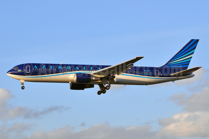 Azerbaijan Airlines Boeing 767-32L ER 4K-AZ81 (msn 40343) BRU (Karl Cornil). Image: 922271.