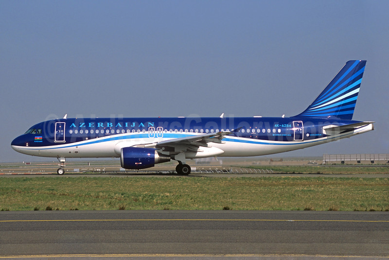Azerbaijan Airlines Airbus A320-214 4K-AZ84 (msn 3006) CDG (Jacques Guillem). Image: 934229.