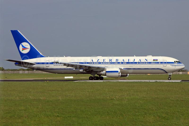 Azerbaijan Airlines-AZAL Boeing 767-32L ER 4K-AI01 (msn 40342) DUB (Paul Doyle). Image: 906423.