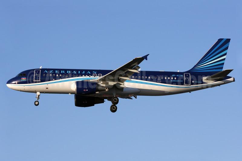 Azerbaijan Airlines Airbus A320-214 4K-AZ78 (msn 2853) LHR (Antony J. Best). Image: 926225.