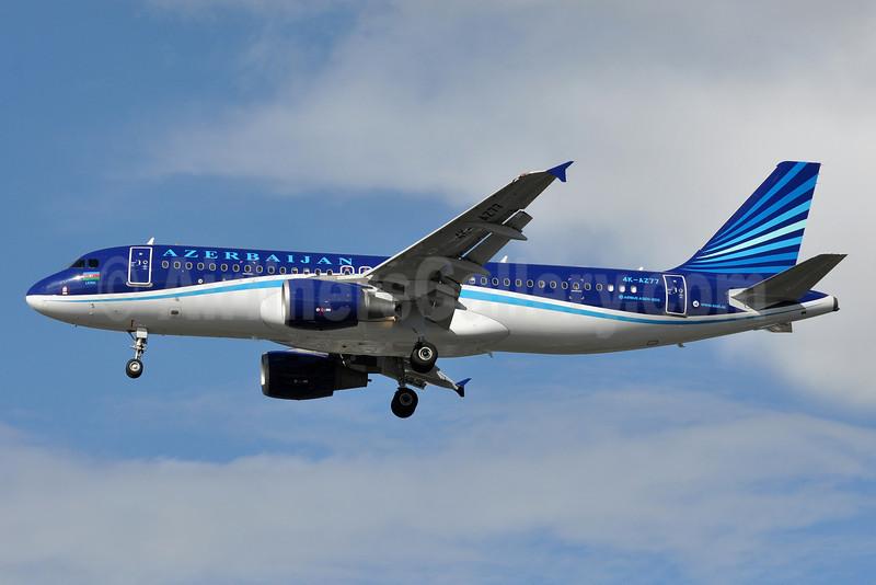 Azerbaijan Airlines Airbus A320-214 4K-AZ77 (msn 2846) LHR (Tony Storck). Image: 913749.