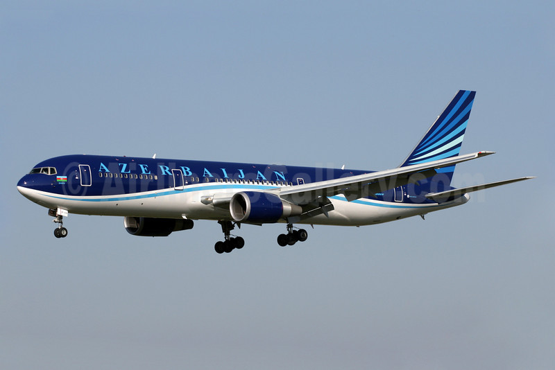 Azerbaijan Airlines Boeing 767-32L ER 4K-AZ81 (msn 40343) LHR (Antony J. Best). Image: 922363.