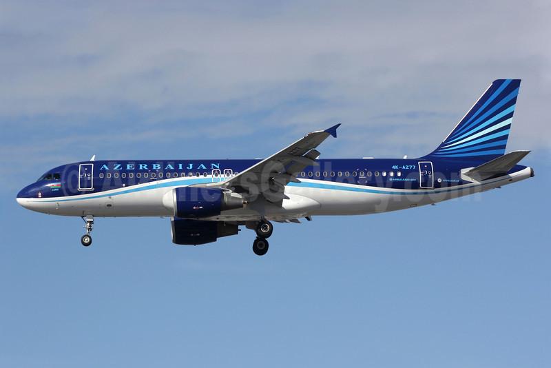 Azerbaijan Airlines Airbus A320-214 4K-AZ77 (msn 2846) LHR (Antony J. Best). Image: 913748.