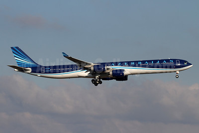 Azerbaijan Airlines Airbus A340-642 (ACJ) 4K-A108 (msn 779) ZRH (Andi Hiltl). Image: 954062.