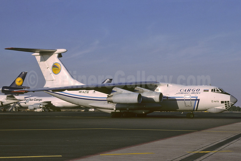 Azerbaijan Airlines Cargo Ilyushin Il-76TD 4K-AZ16 (msn 1023412411) SHJ (Richard Vandervord). Image: 913755.