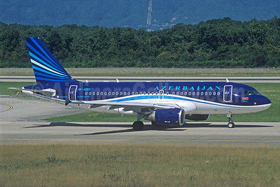 Azerbaijan Airlines Airbus A319-111 4K-AZ03 (msn 2516) GVA (Jacques Guillem Collection). Image: 939224.