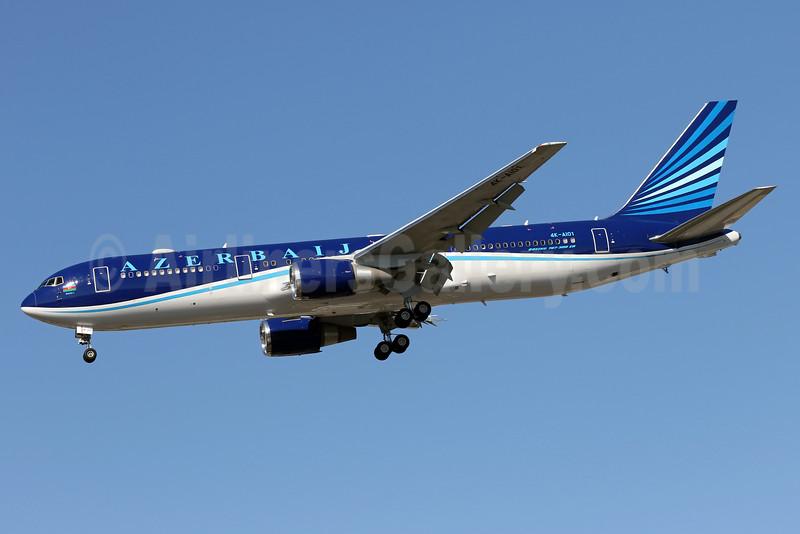 Azerbaijan Airlines Boeing 767-32L ER 4K-AI01 (msn 40342) ADW (Brian McDonough). Image: 932297.