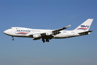 Silkway Azerbaijan Cargo (Silkway West Airlines) Boeing 747-4H6F VP-BCR (msn 28434) HHN (Rainer Bexten). Image: 943154.