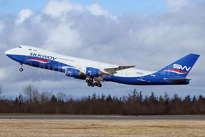 Silkway Azerbaijan Cargo (Silkway West Airlines) Boeing 747-83QF N55077 (VQ-BBM) (msn 62709) PAE (Nick Dean). Image: 937236.
