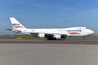 Silkway Azerbaijan Cargo (Silkway West Airlines) Boeing 747-4H6F VP-BCR (msn 28434) AMS (Ton Jochems). Image: 949893.