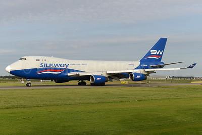 Silkway Azerbaijan Cargo (Silkway West Airlines) Boeing 747-4R7F 4K-SW888 (msn 29730) AMS (Ton Jochems). Image: 934551.