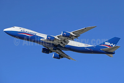 Silkway Azerbaijan Cargo (Silkway West Airlines) Boeing 747-83QF VQ-BBH (msn 62708) LAX (Michael B. Ing). Image: 940823.