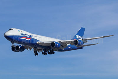 Silkway Azerbaijan Cargo (Silkway West Airlines) Boeing 747-83QF VQ-BBH (msn 62708) LAX (Michael B. Ing). Image: 940822.