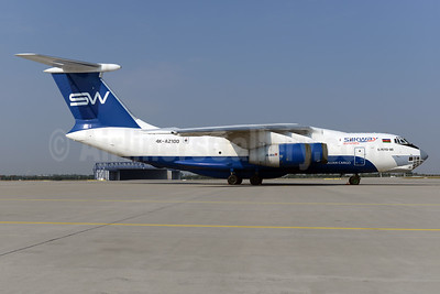 Silk Way Azerbaijan Cargo (Silk Way Airlines) Ilyushin Il-76TD-90SW 4K-AZ100 (msn 2073421708) LEJ (Ton Jochems). Image: 935564.