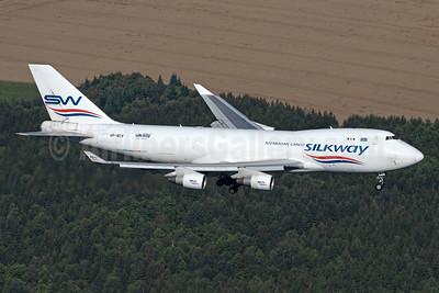 Silkway Azerbaijan Cargo (Silkway West Airlines) Boeing 747-4H6F VP-BCV (msn 29902) HHN (Rainer Bexten). Image: 955235.