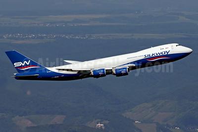 Silkway Azerbaijan Cargo (Silkway West Airlines) Boeing 747-83QF VQ-BVB (msn 44444) HHN (Rainer Bexten). Image: 938001.
