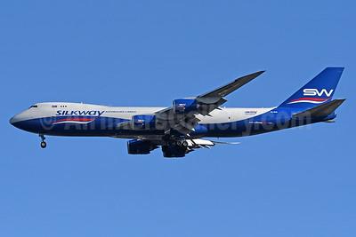 Silkway Azerbaijan Cargo (Silkway West Airlines) Boeing 747-83QF VQ-BVB (msn 44444) JFK (Fred Freketic). Image: 935346.