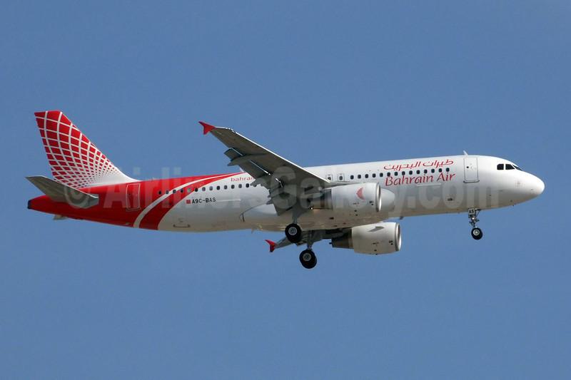 Bahrain Air Airbus A320-214 A9C-BAS (msn 3931) DXB (Jay Selman). Image: 402256.