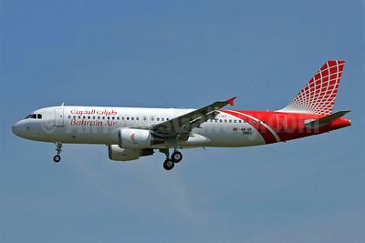 Bahrain Air Airbus A320-214 F-WWDP (A9C-BAV) (msn 3861) TLS. Image: 902615.