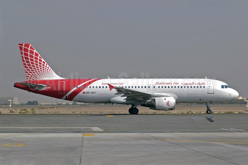 Bahrain Air Airbus A320-212 A9C-BAY (msn 579) DXB (Jay Selman). Image: 402005.