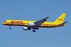 DHL International Aviation (SNAS Aviation) (Bahrain) Boeing 757-225 (F) A9C-DHE (msn 22210) DXB (Paul Denton). Image: 920327.