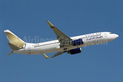 Gulf Air (XL Airways Germany) Boeing 737-8FH WL D-AXLD (msn 35093) DXB (Konstantin von Wedelstaedt). Image: 900545.