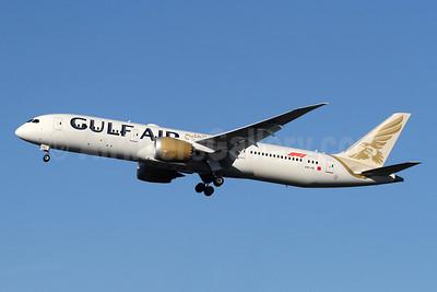 Gulf Air Boeing 787-9 Dreamliner A9C-FB (msn 39997) LHR (SPA). Image: 944341.