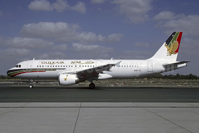 Gulf Air Airbus A320-212 A40-EL (msn 497) SHJ (Christian Volpati Collection). Image: 954098.