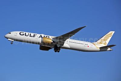 Gulf Air Boeing 787-9 Dreamliner A9C-FC (msn 39982) LHR (Keith Burton). Image: 944639.