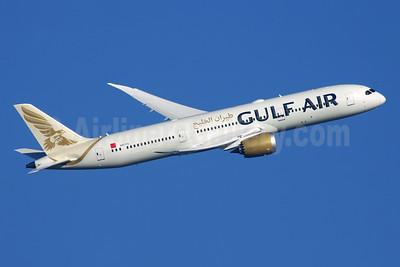 Gulf Air Boeing 787-9 Dreamliner A9C-FD (msn 39983) LHR (Antony J. Best). Image: 944640.