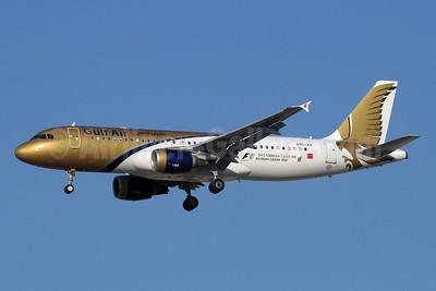 Gulf Air Airbus A320-214 A9C-AH (msn 4218) (Grand Prix 2012) DXB (Paul Denton). Image: 913359.