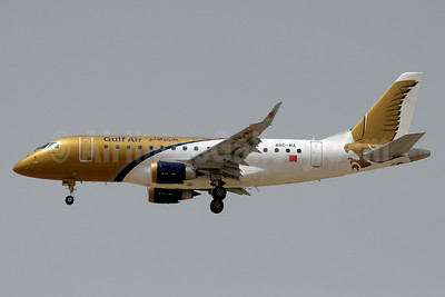 Gulf Air Embraer ERJ 170-100LR A9C-MA (msn 17000278) DXB (Paul Denton). Image: 934744.